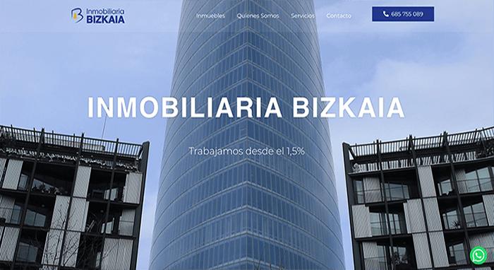 diseño web inmobiliaria bizkaia bilbao